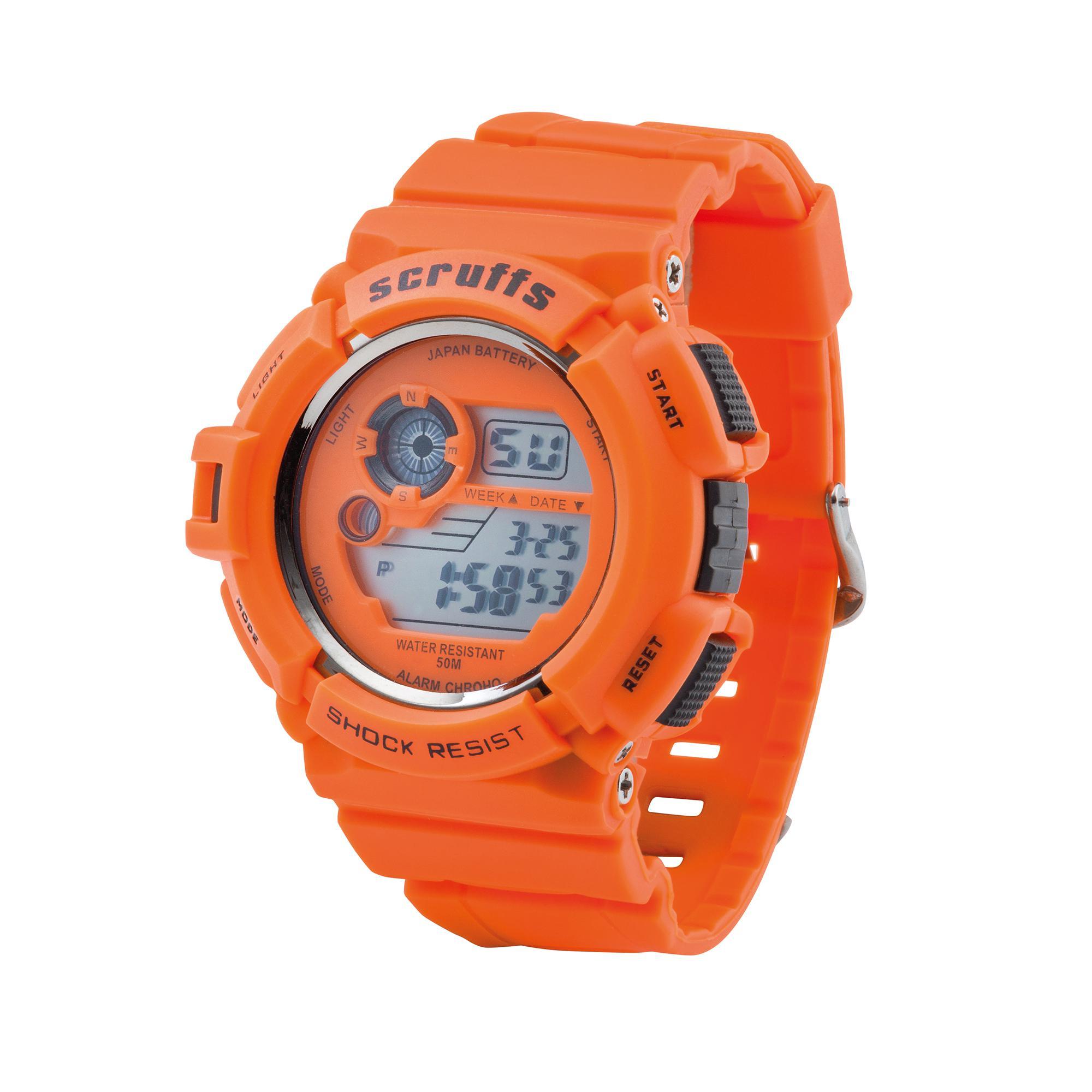 Scruffs Orange Watch