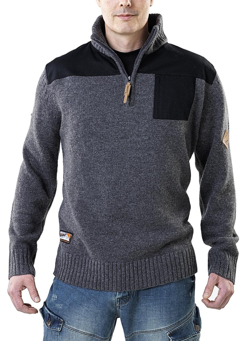 Image for Half Zip Knit