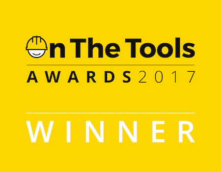 scruffs winner of the on the tools awards
