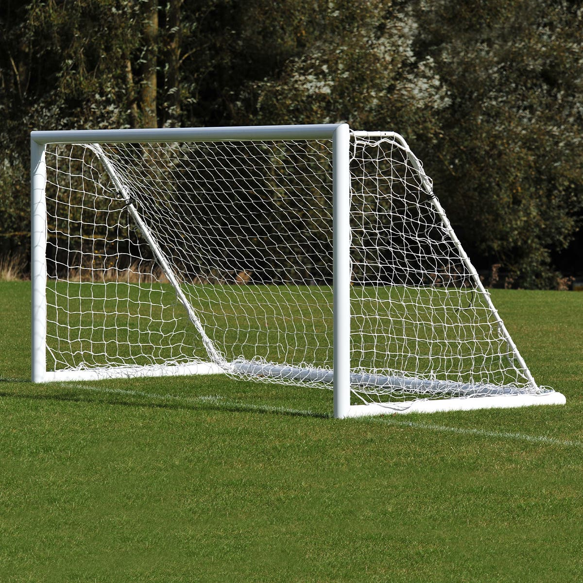 Image for Championship Aluminium Freestanding Foldaway Mini Soccer Goals Package - 12' x 6'