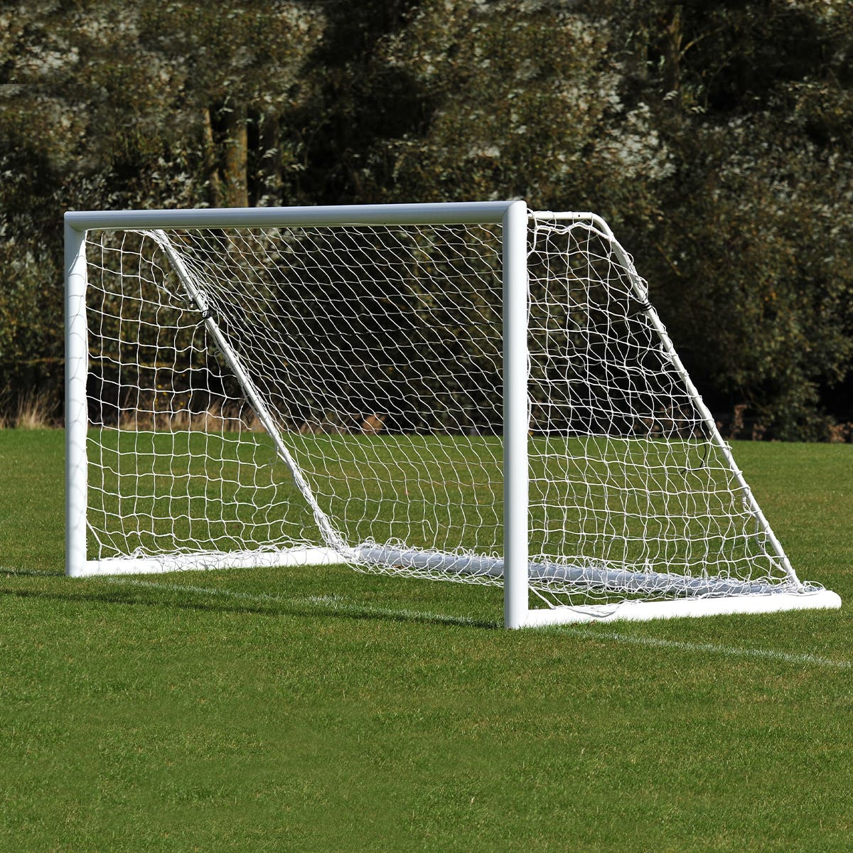 Image for Freestanding Aluminium Football Goals Package - 16' x 6'