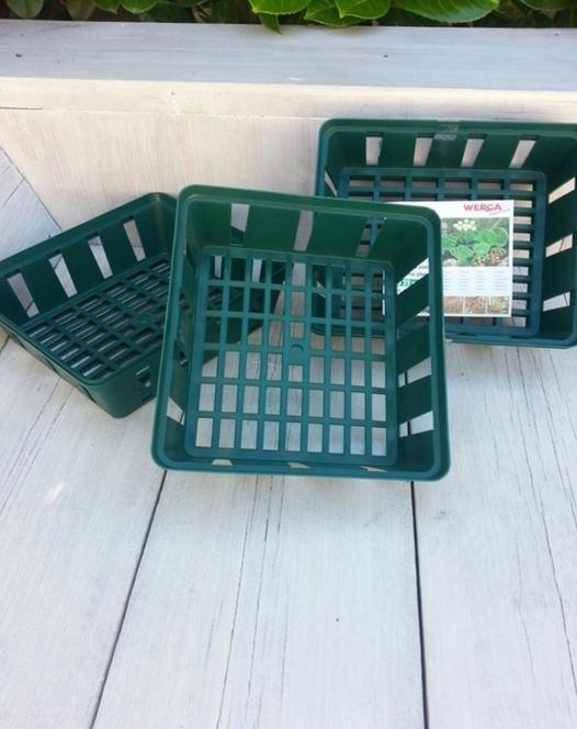 Bulb Basket Square (set of 3)