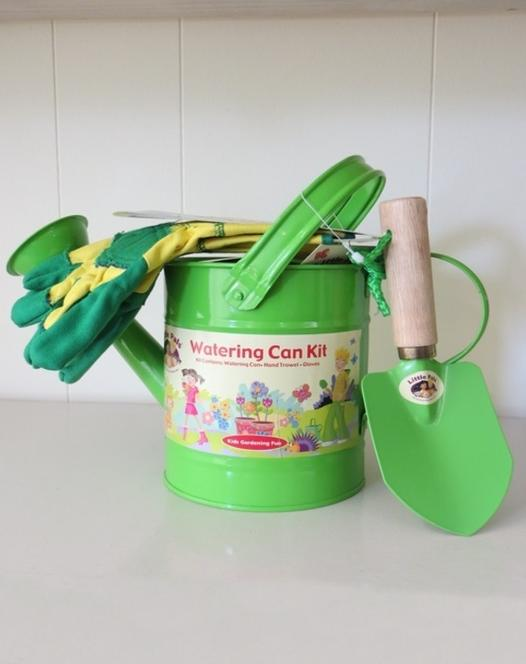 Children's Watering Can Kit Green