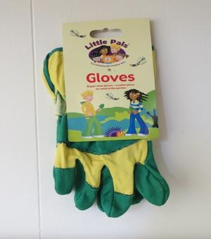 Children's Rigger Garden Gloves Green/Yellow