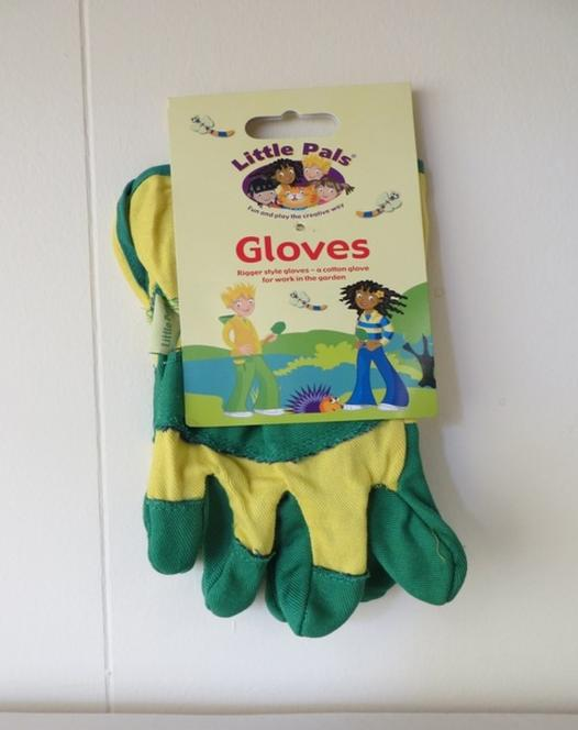 Children's Rigger Garden Gloves Green/Yellow