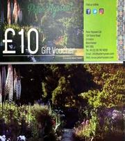 Gift Voucher £10.00