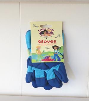 Tuinhandschoenen voor kinderen (blauw)