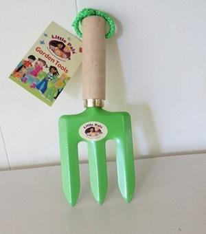 Fourche à la main (vert)