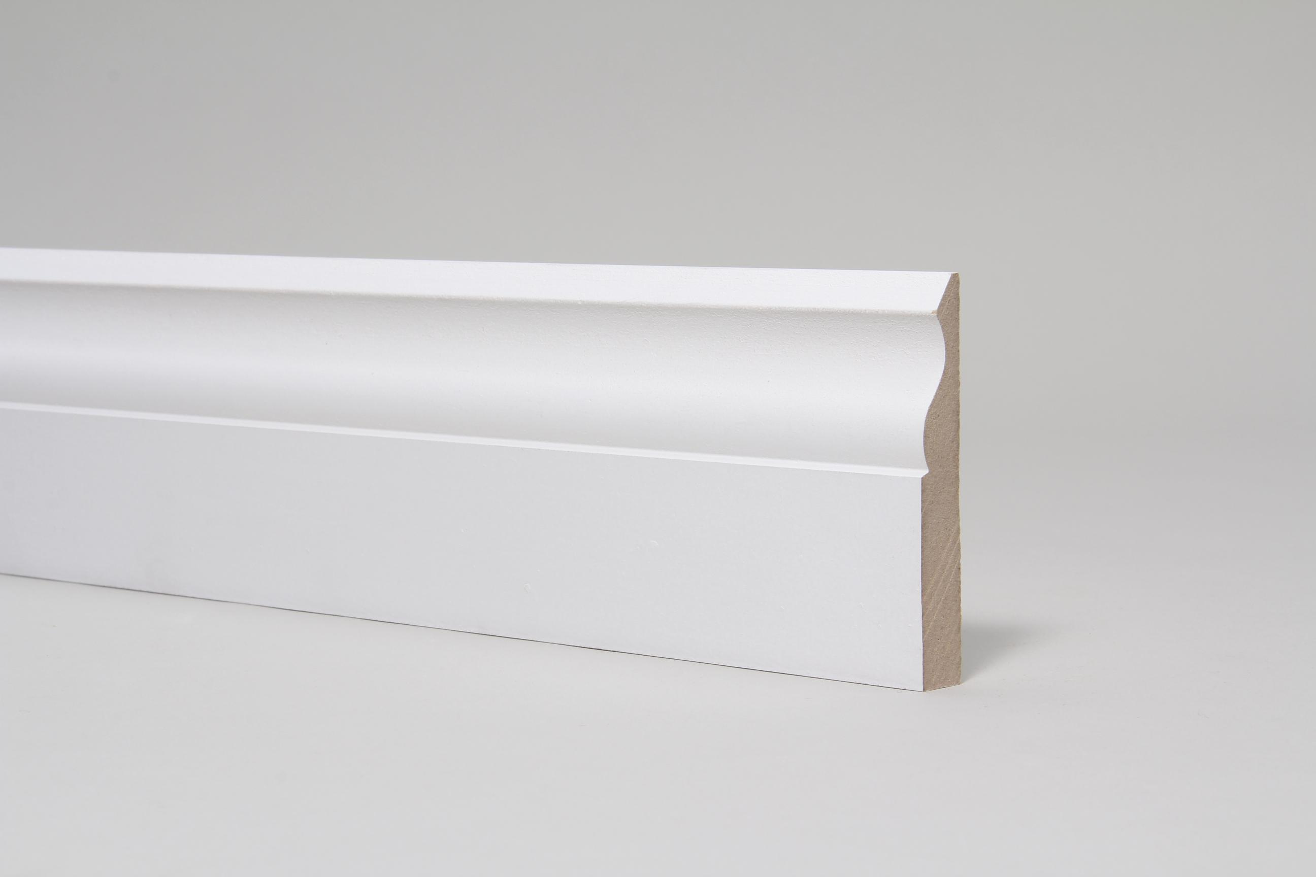 Ogee  15mm x 94mm x 4.4 Mtr Primed