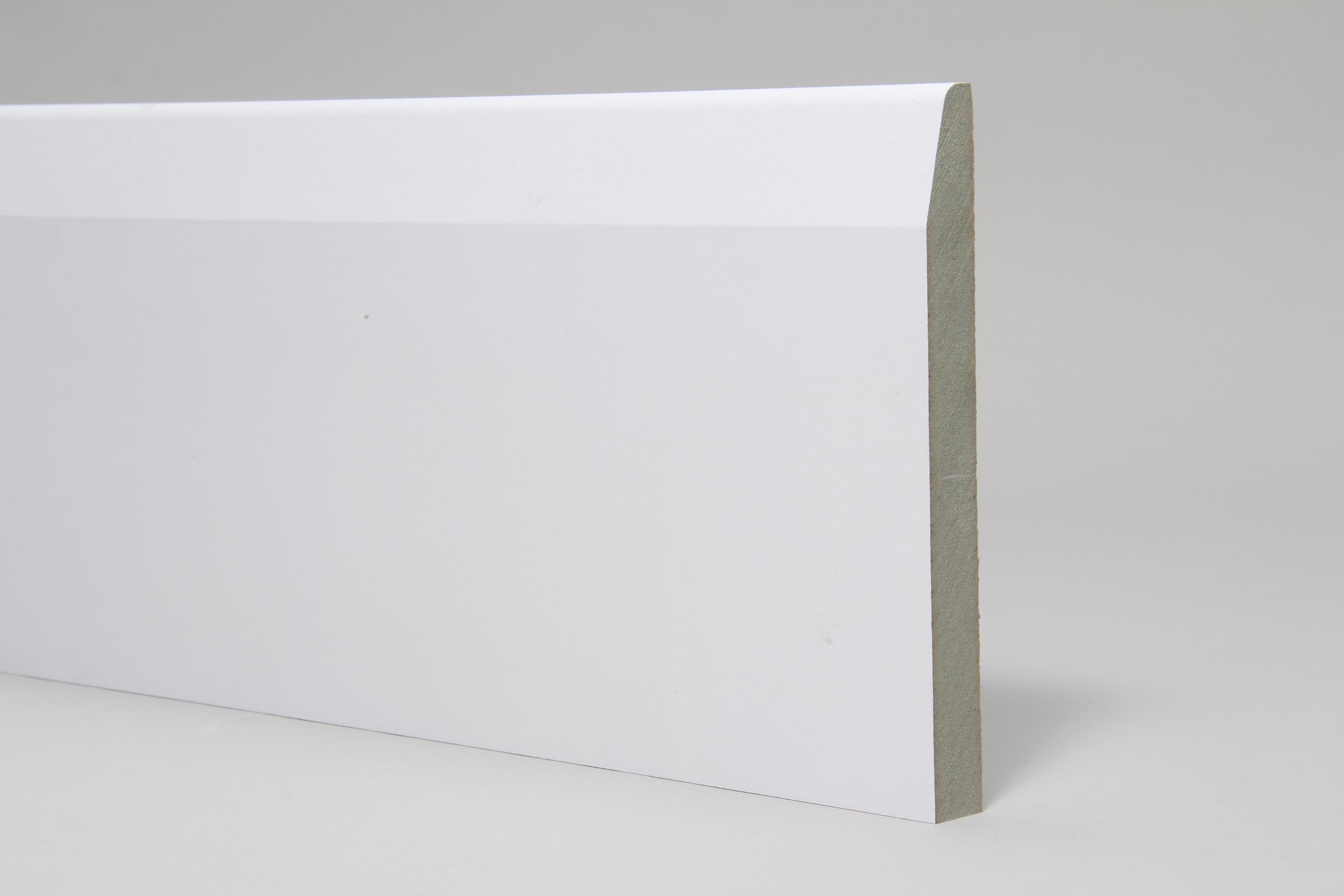 Chamfered & Rounded 18mm x 168mm x 4.4 Mtr Primed