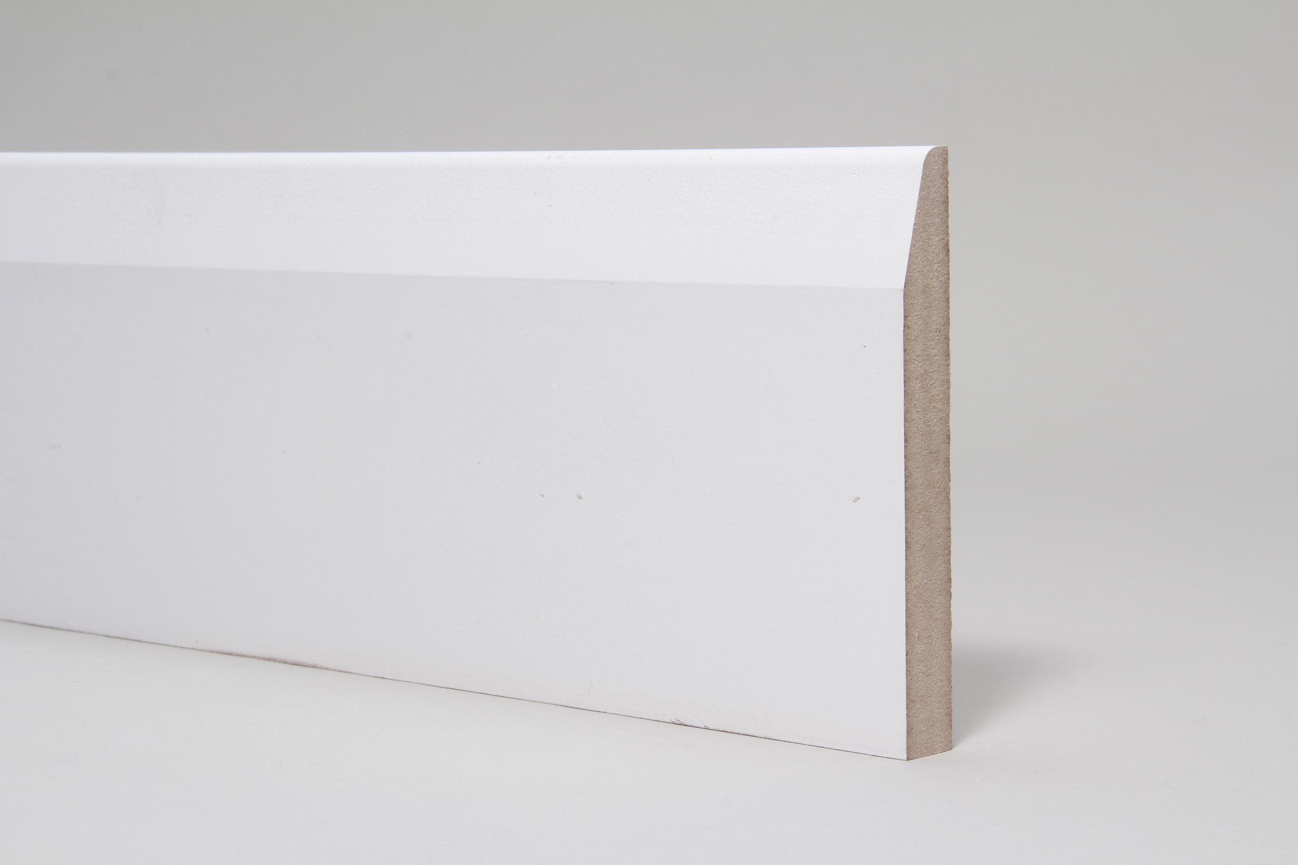 Chamfered & Rounded 18mm x 144mm x 4.4 Mtr Primed