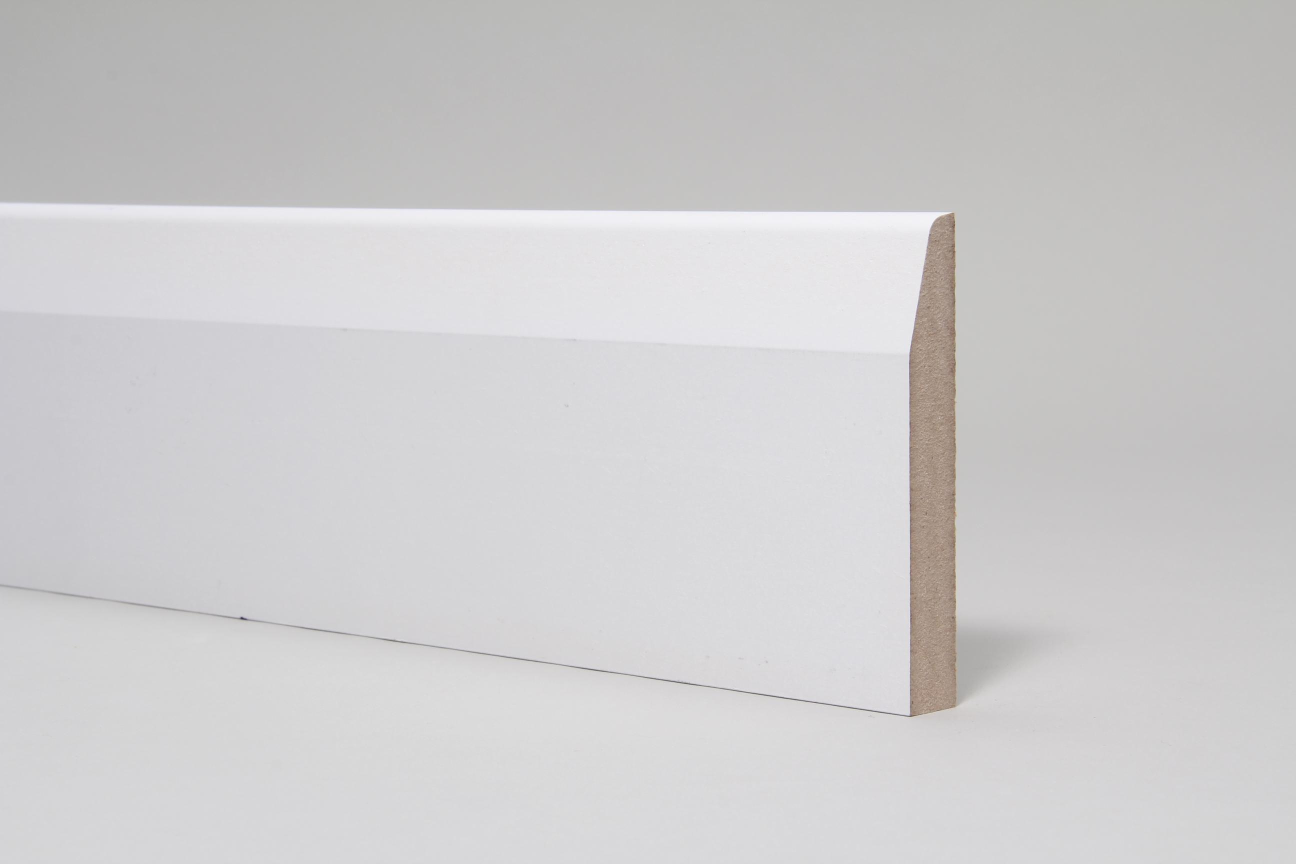 Chamfered & Rounded 18mm x 119mm x 4.4 Mtr Primed
