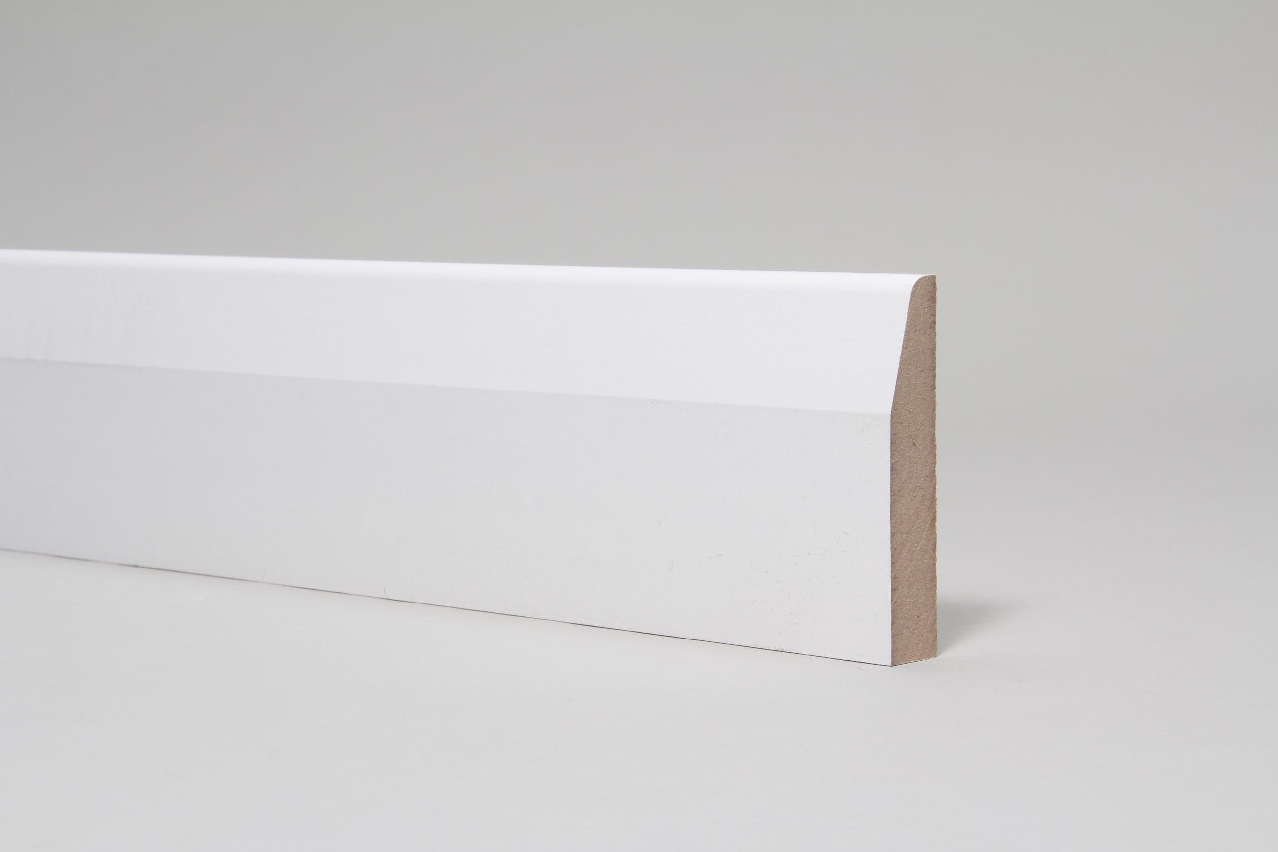 Chamfered & Rounded 18mm x 94mm x 4.4 Mtr Primed