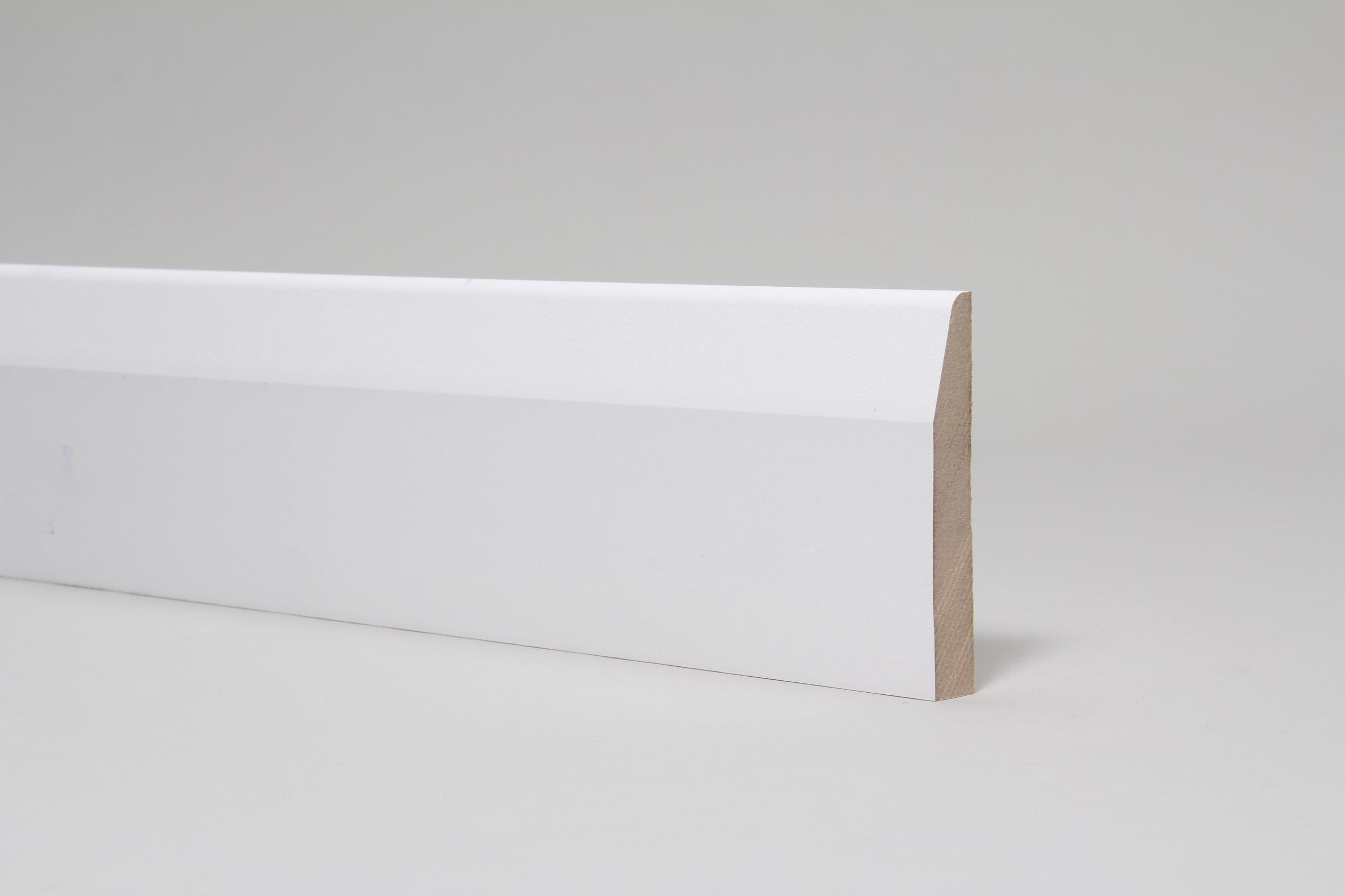 Chamfered & Rounded 15mm x 94mm x 4.4 Mtr Primed