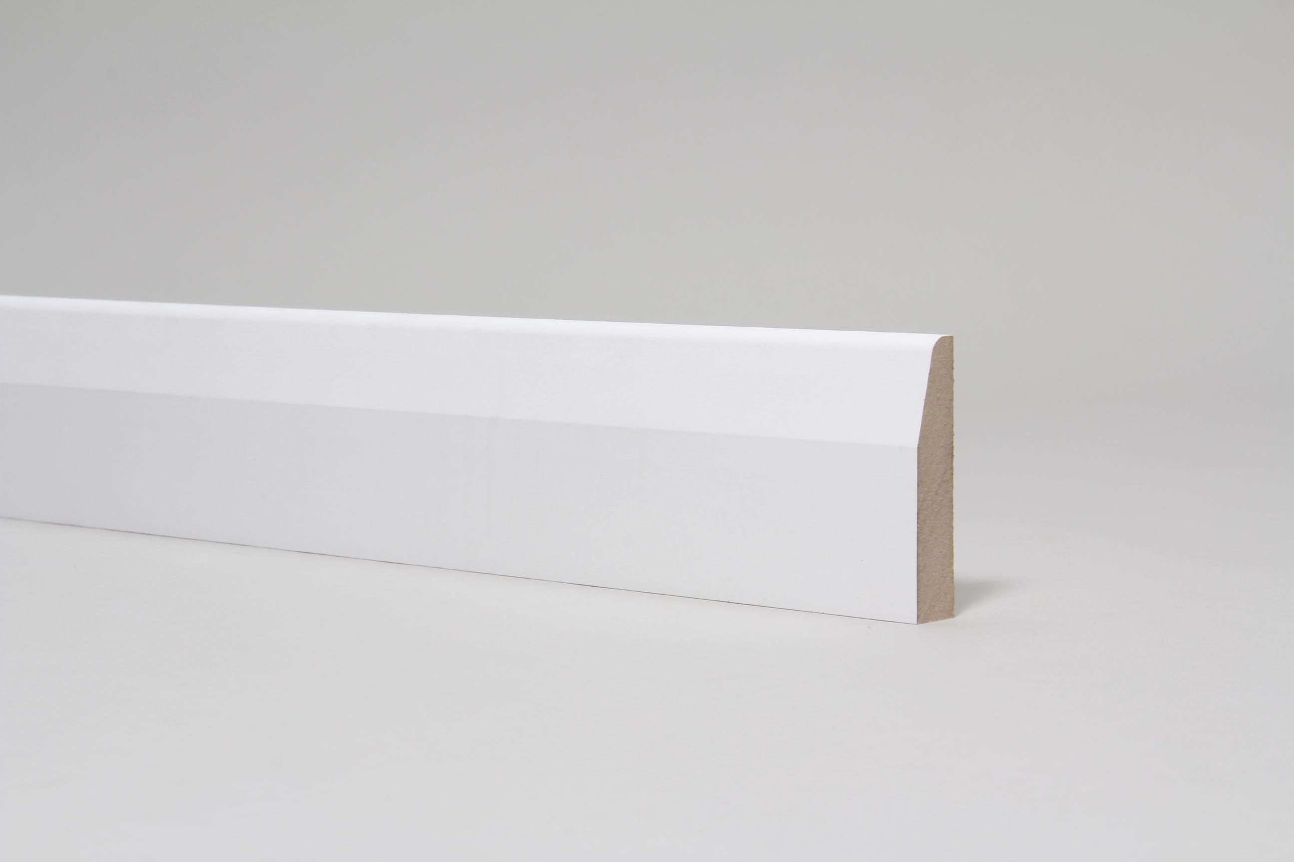 Chamfered & Rounded 15mm x 68mm Architrave Set Primed