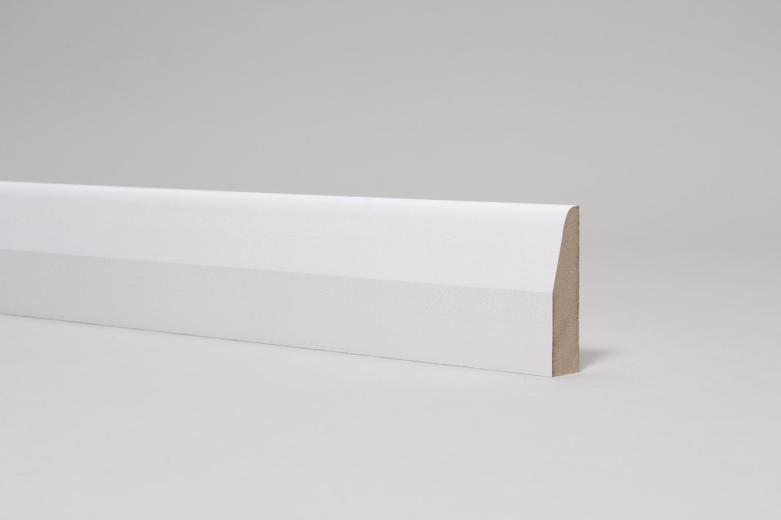 Chamfered & Rounded 18mm x 68mm Architrave Set Primed
