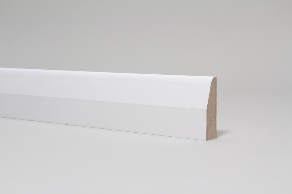 Image for Chamfered & Rounded 18mm x 68mm Architrave Set Primed