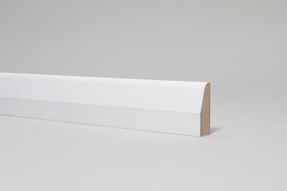 Image for Chamfered & Rounded 18mm x 57mm Architrave Set Primed