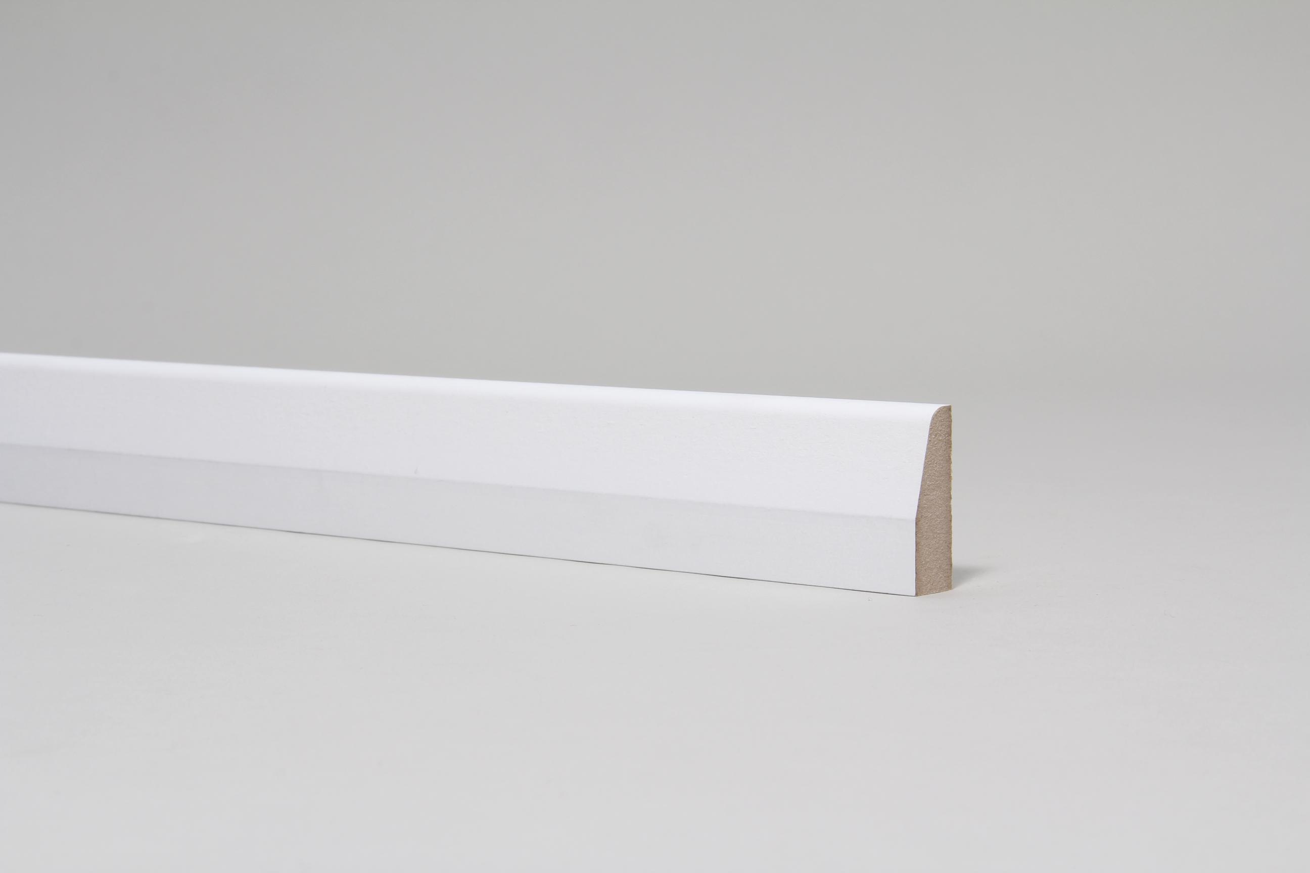 Chamfered & Rounded 15mm x 44mm Architrave Set Primed