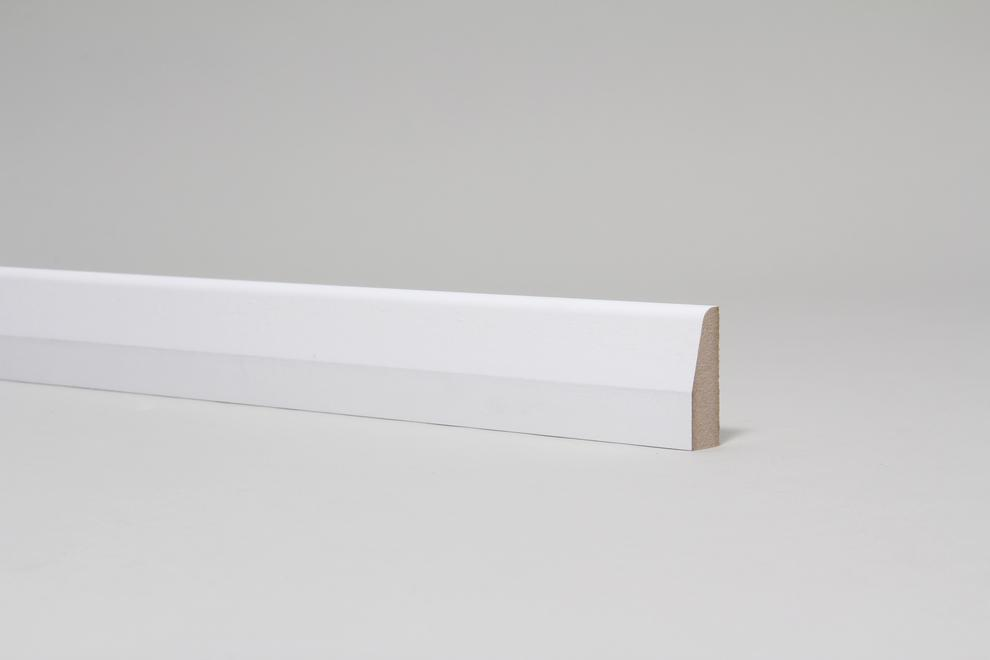 Image for Chamfered & Rounded 15mm x 44mm Architrave Set Primed
