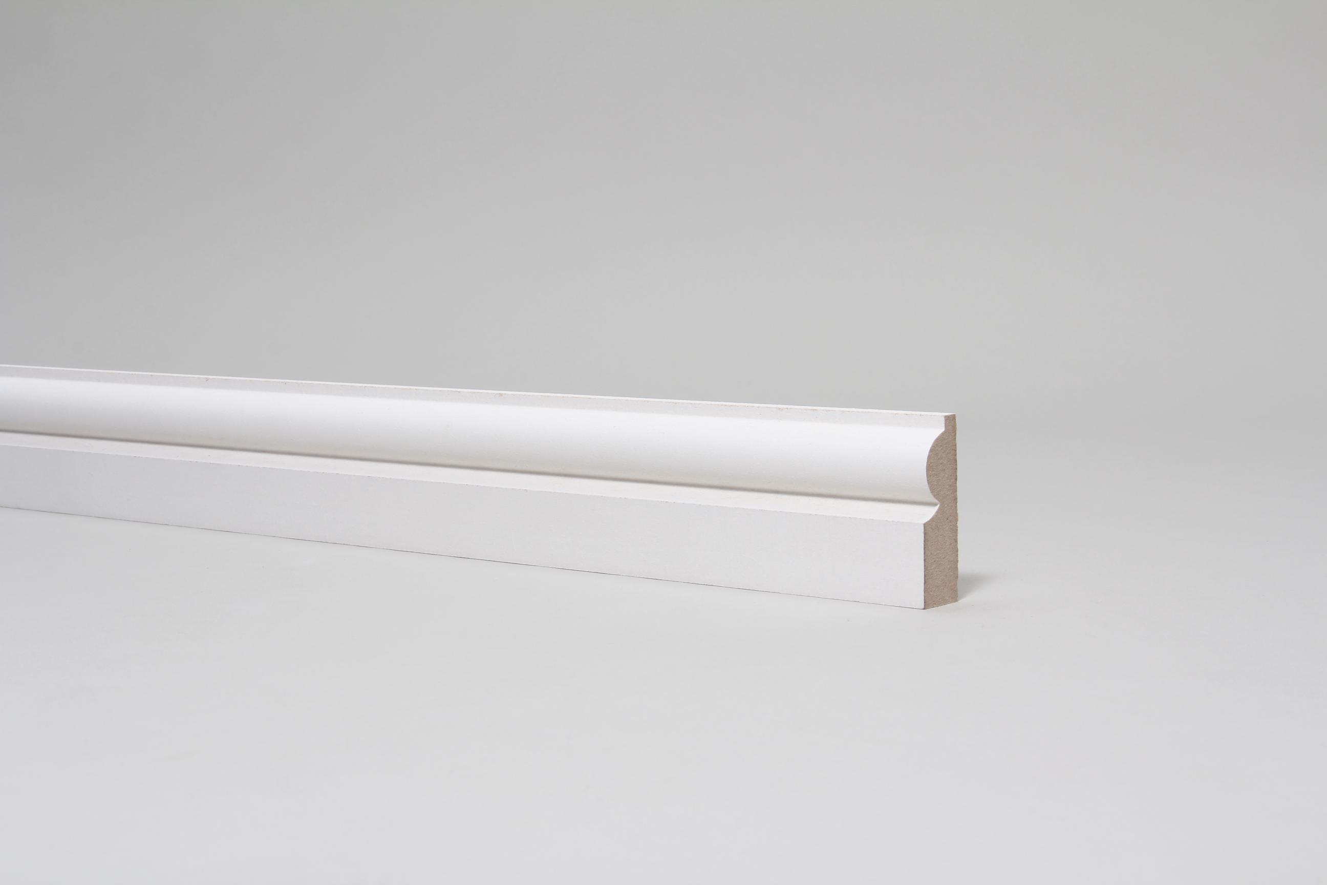 Torus  18mm x 57mm Primed Architrave Set
