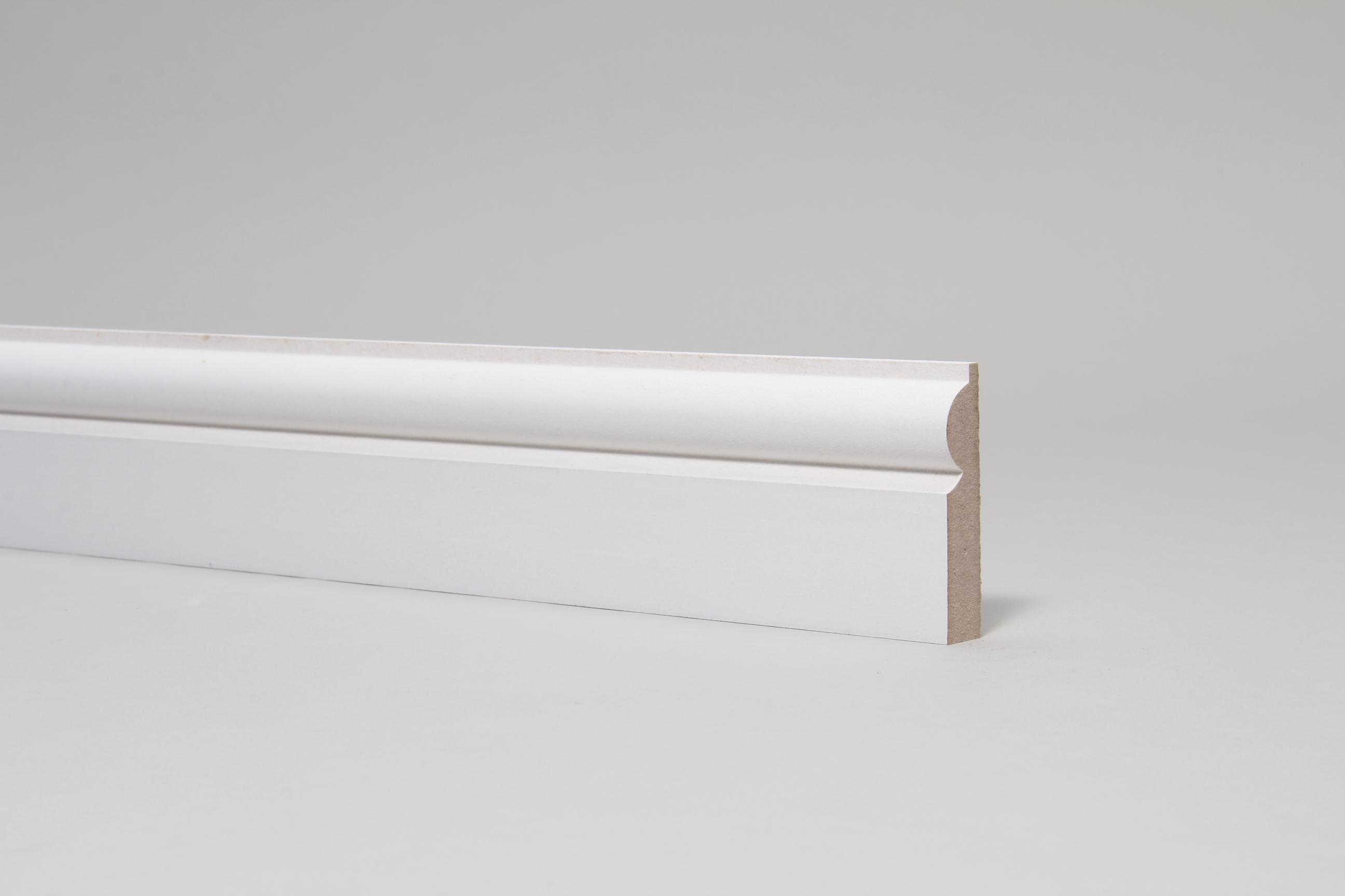 Torus  15mm x 68mm Primed Architrave Set