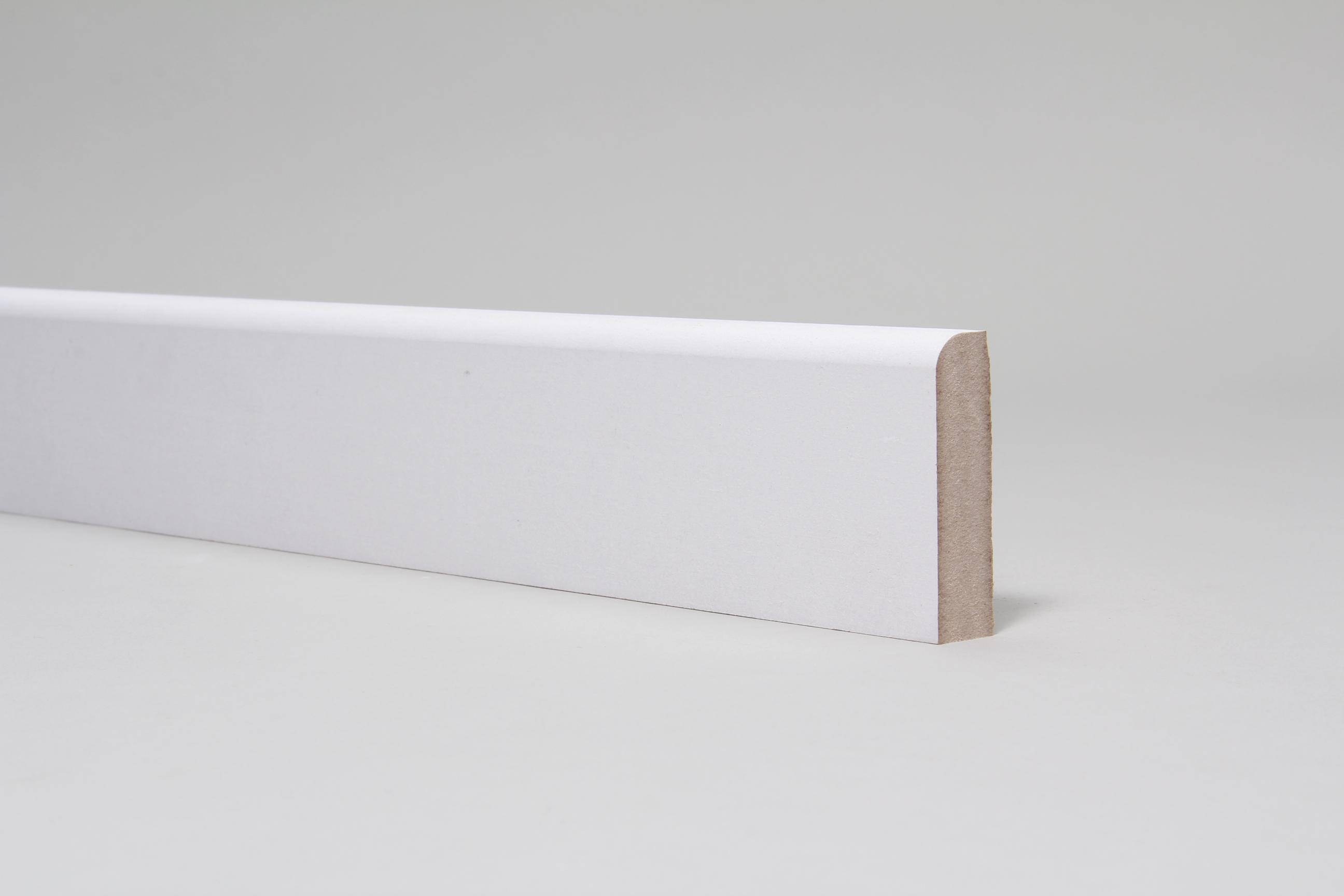 Rounded One Edge 18mm x 68mm Primed Architrave Set