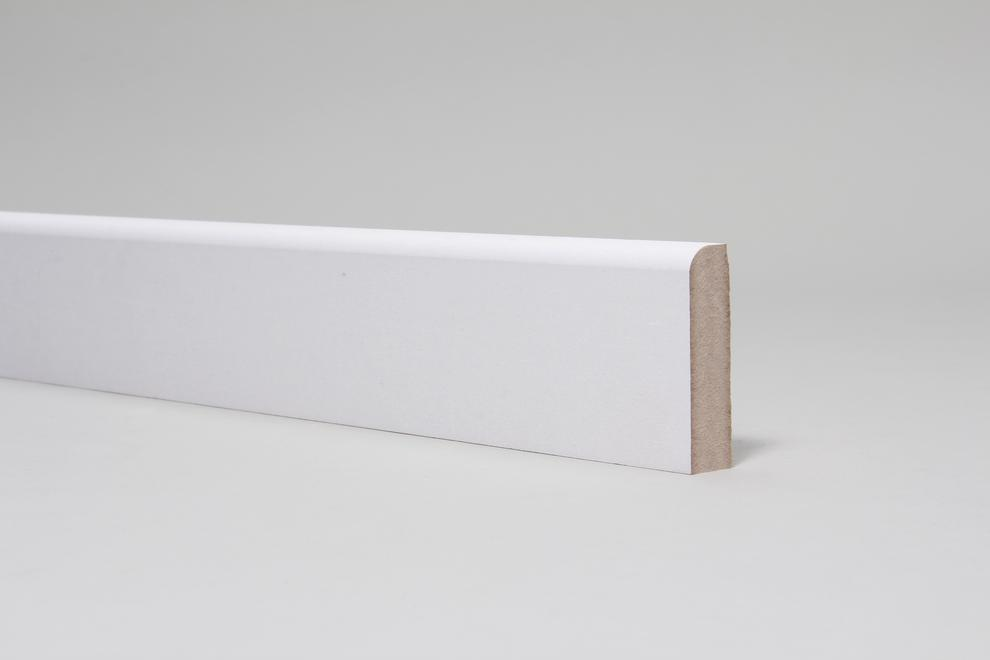 Image for Rounded One Edge 18mm x 68mm Primed Architrave Set