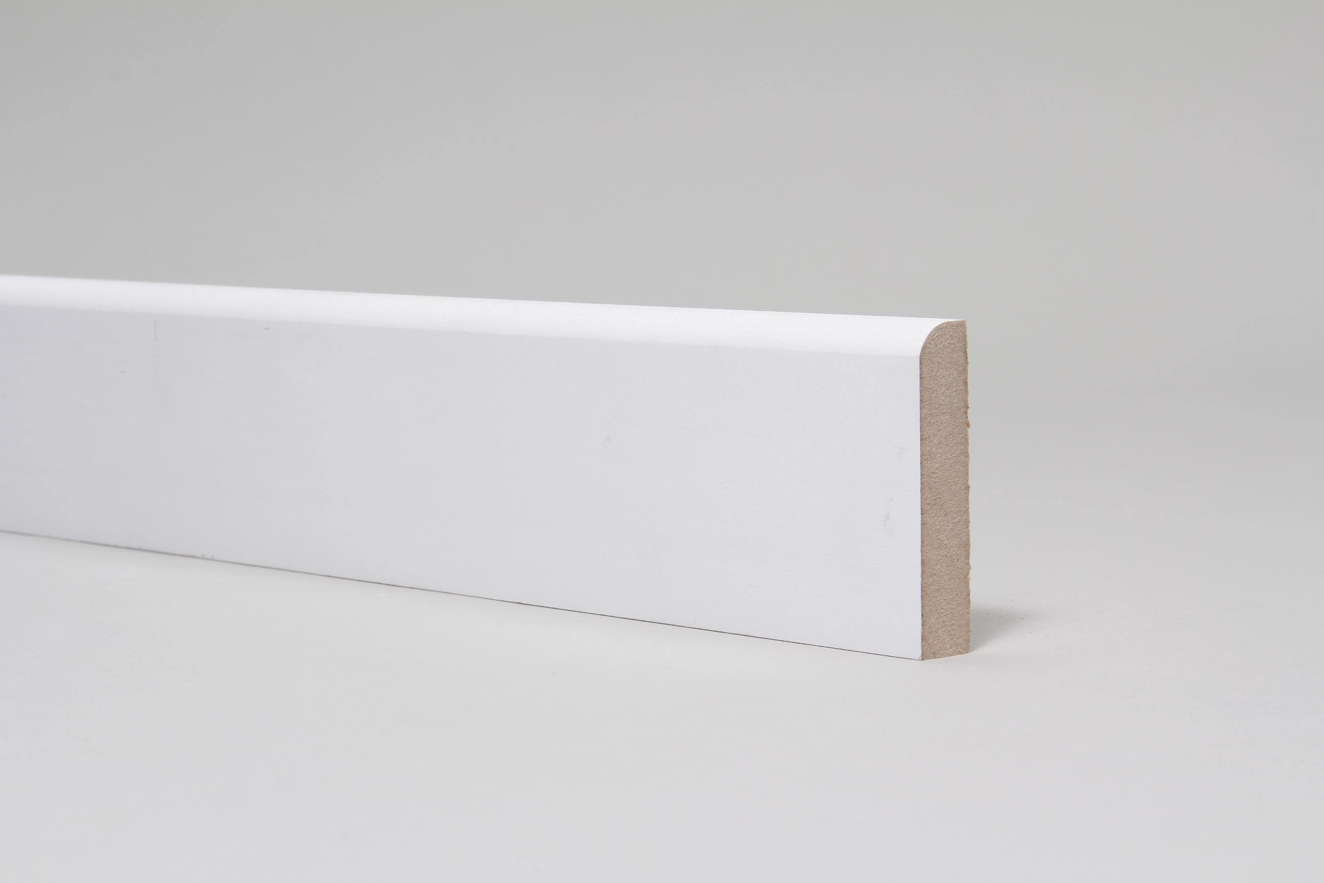 Rounded One Edge 15mm x 68mm Architrave Set Primed