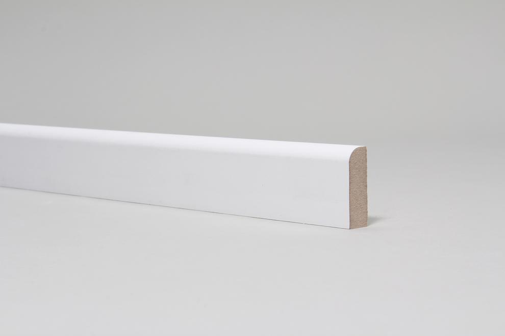 Image for Rounded One Edge 15mm x 44mm Architrave Set Primed