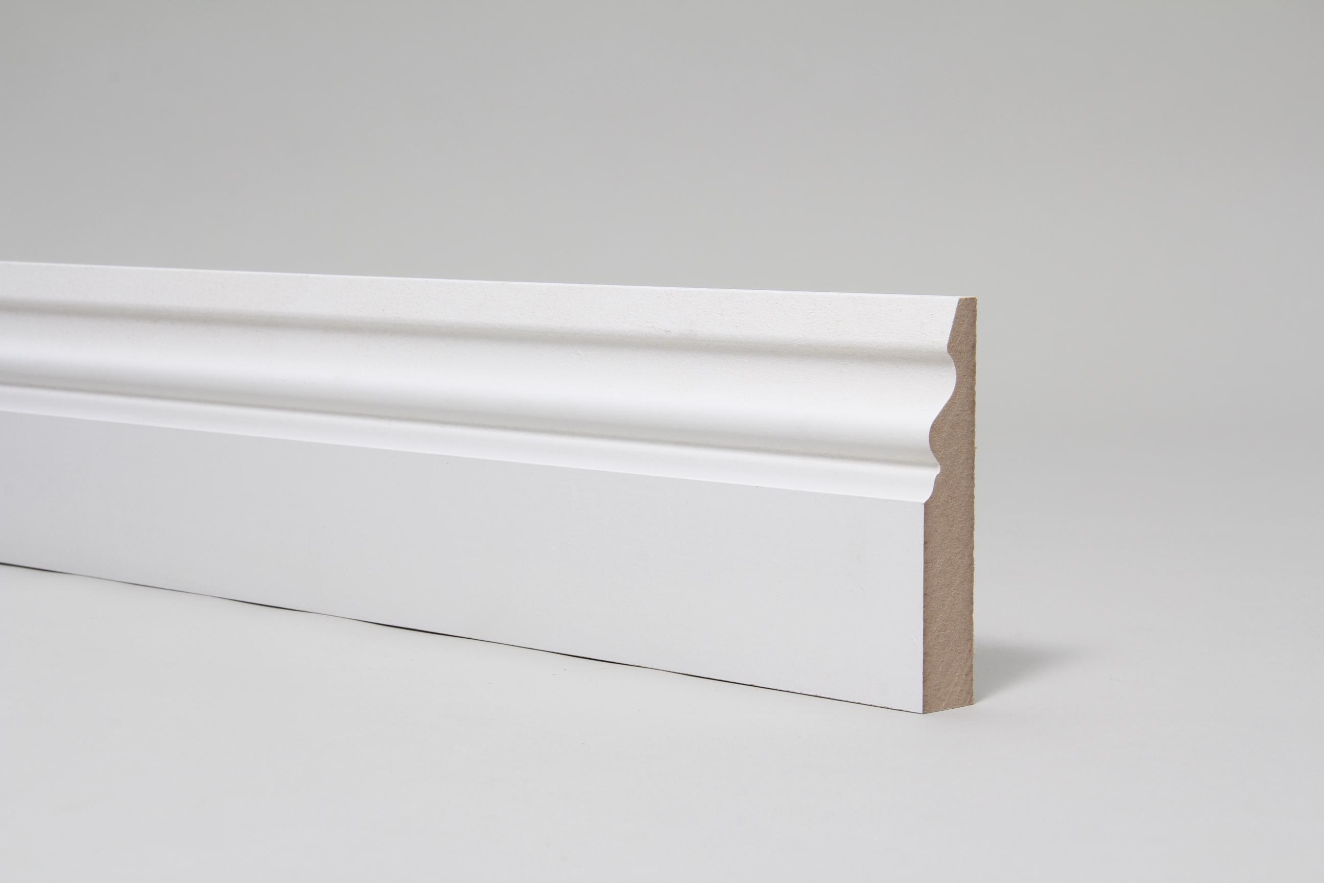 Ogee Pattern  4 18mm x 94mm x 4.4 Mtr Primed