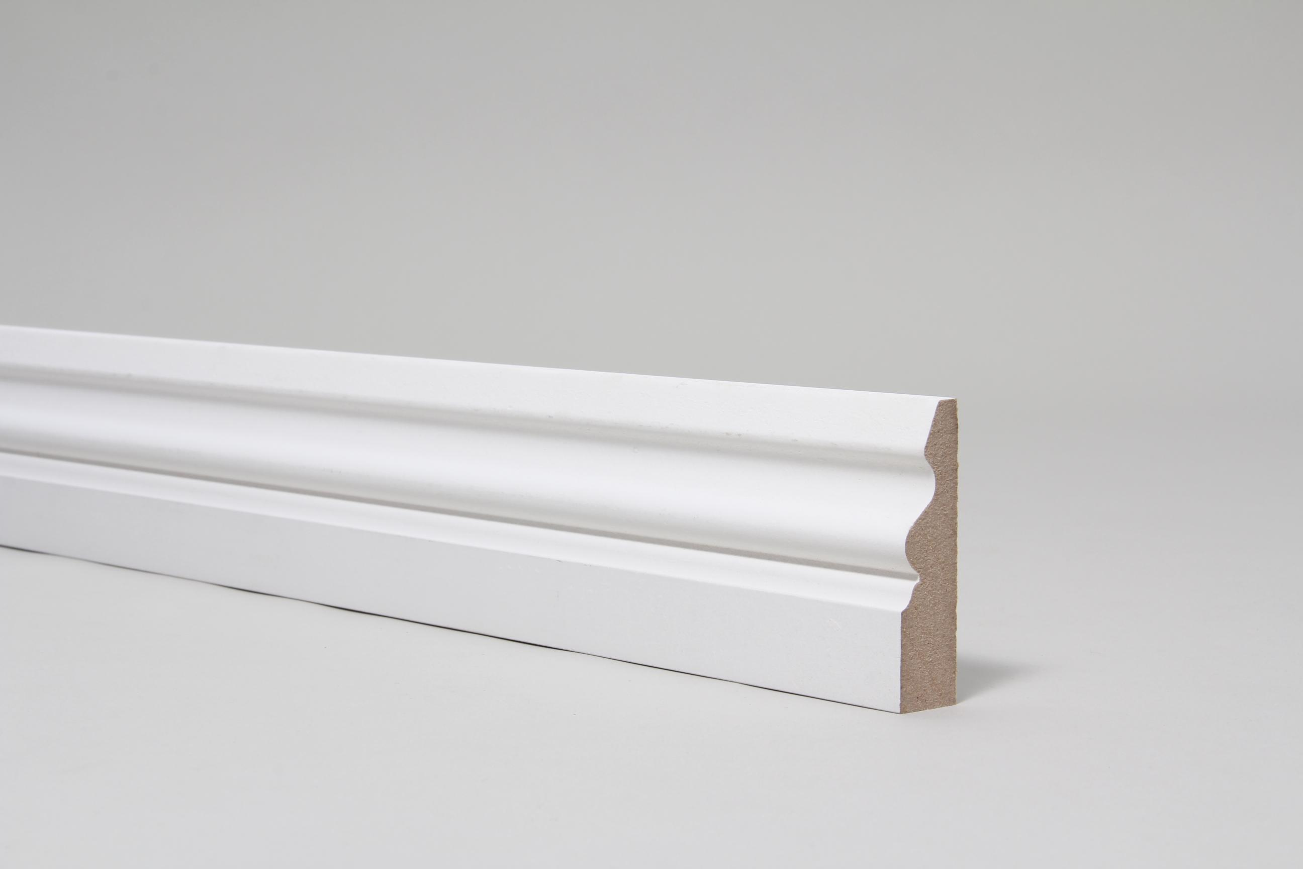 Ogee Pattern 4 18mm x 68mm Architrave Set Primed
