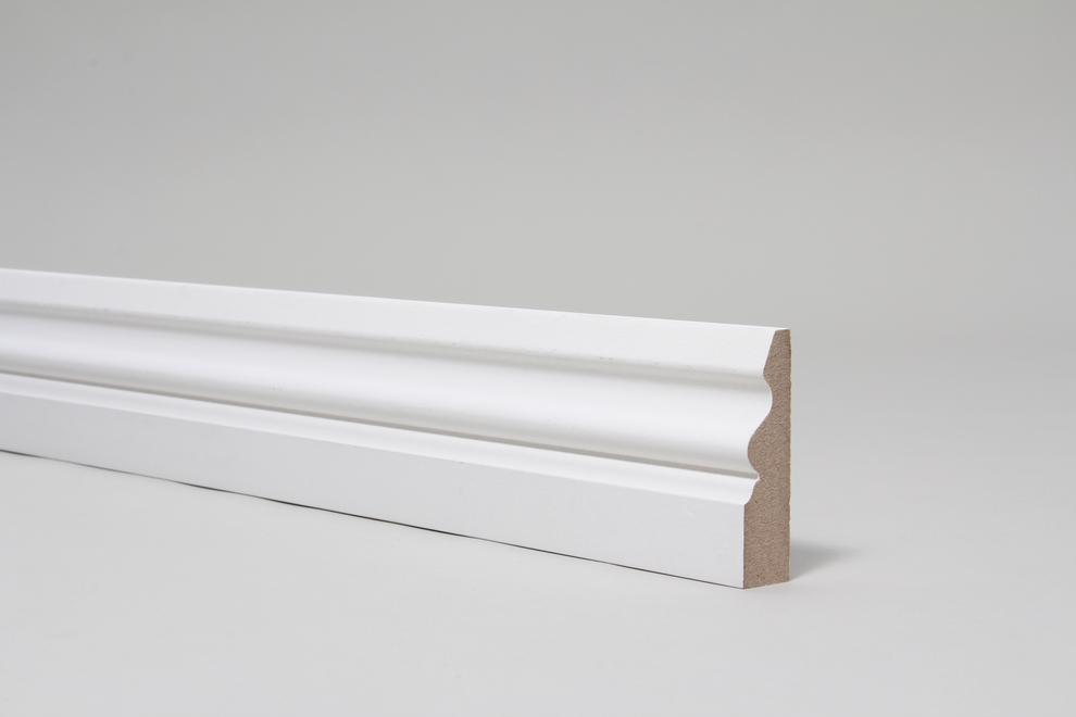 Image for Ogee Pattern 4 18mm x 68mm Architrave Set Primed
