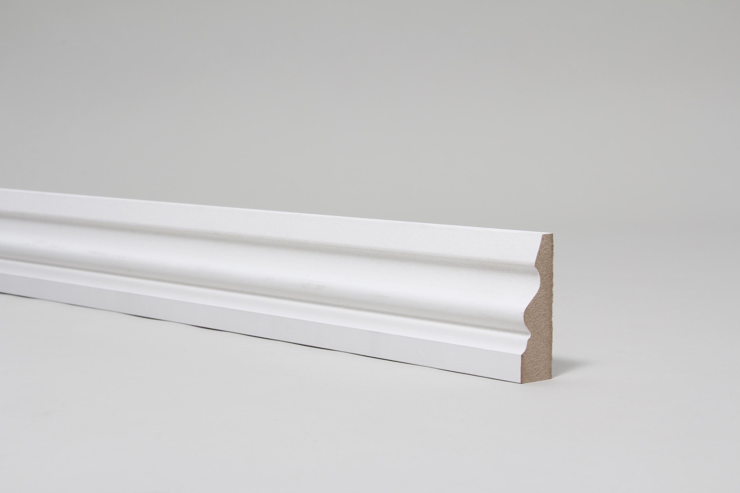 Ogee Pattern 4 18mm x 57mm Architrave Set Primed