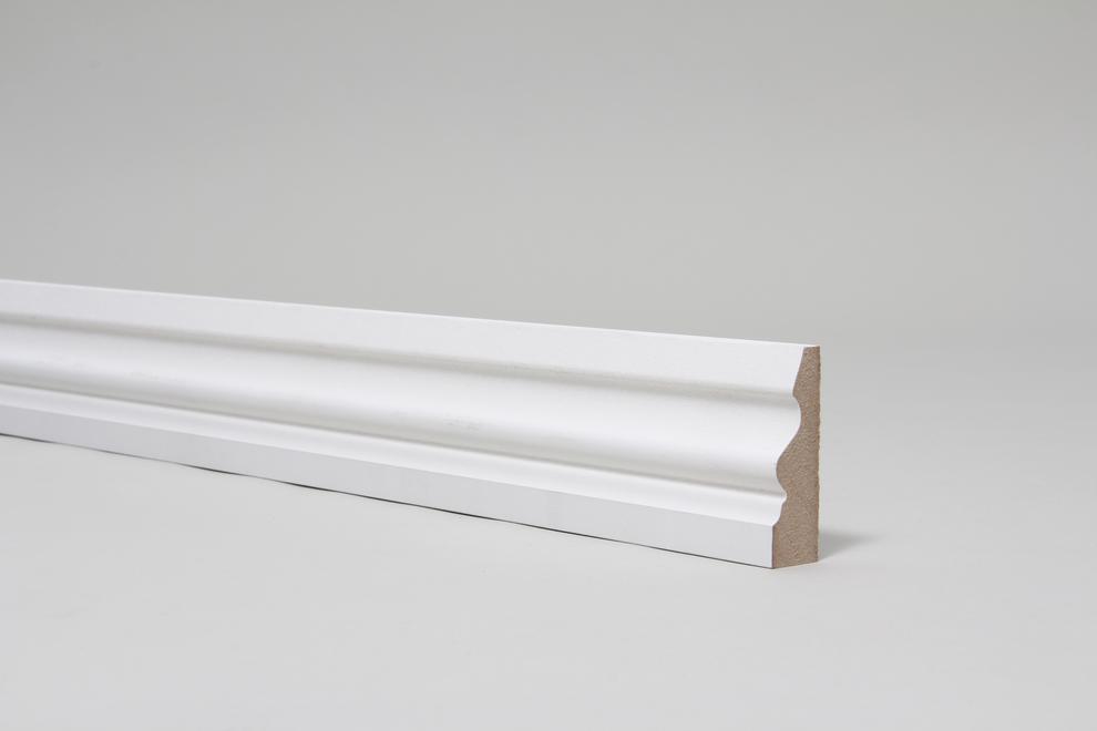 Image for Ogee Pattern 4 18mm x 57mm Architrave Set Primed