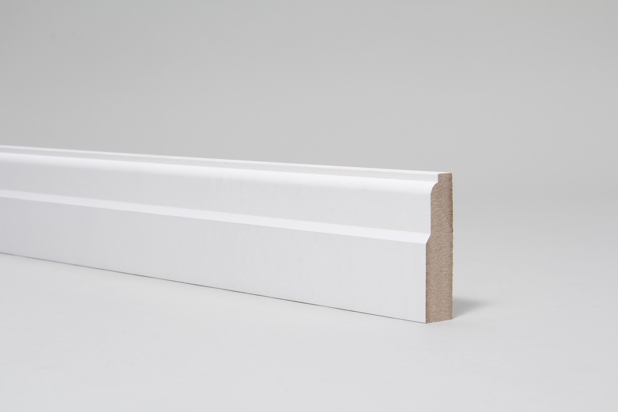 Lambs Tongue  18mm x 68mm Architrave Set Primed