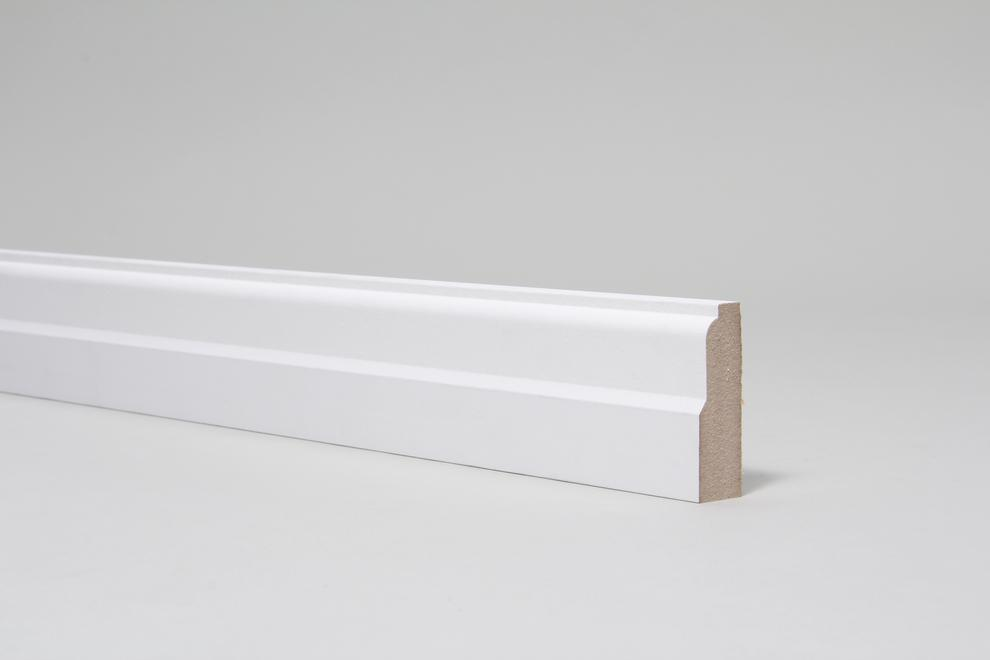 Image for Lambs Tongue 18mm x 57mm Architrave Set Primed