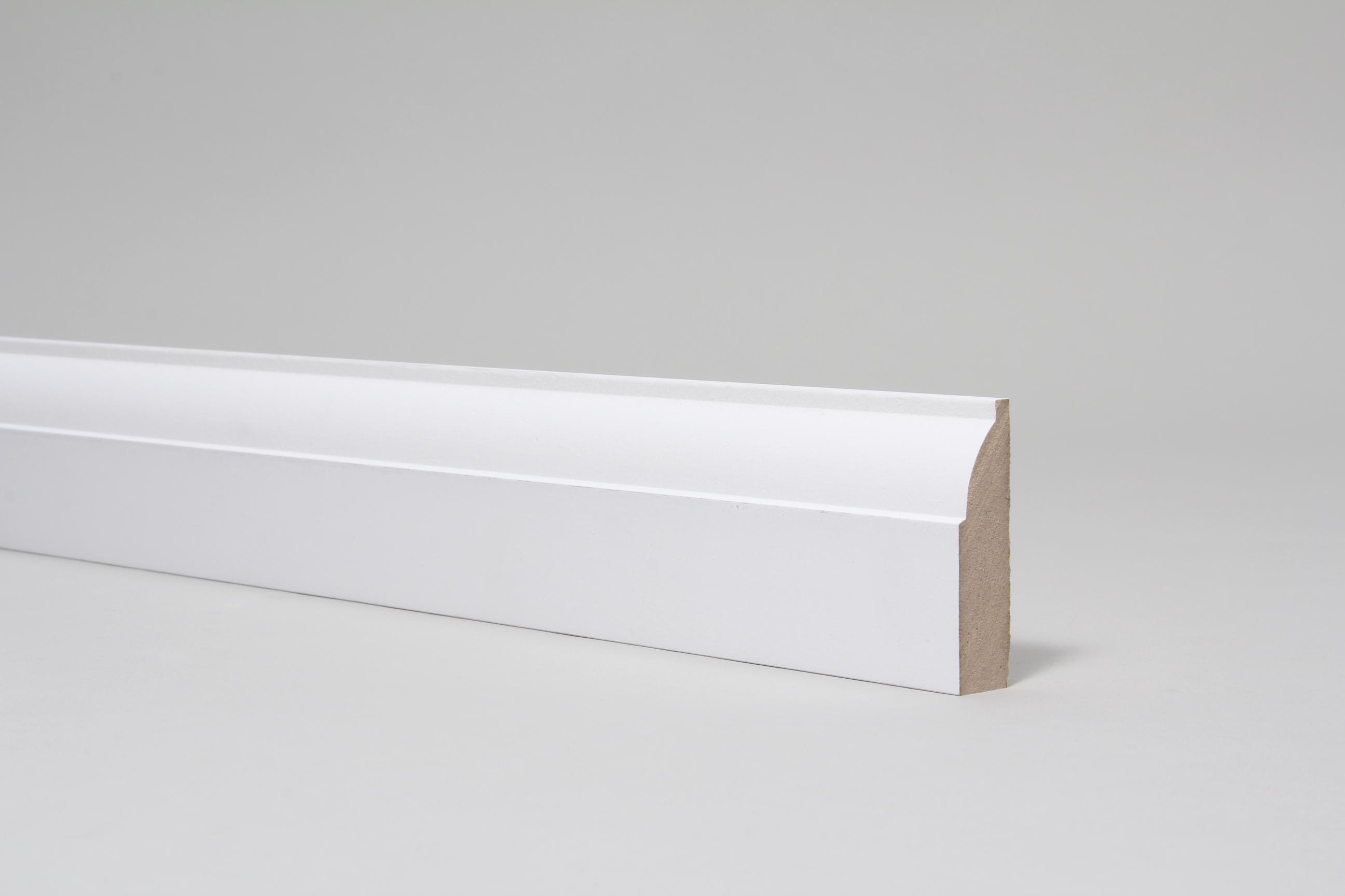 Ovolo 18mm x 68mm Architrave Set Primed