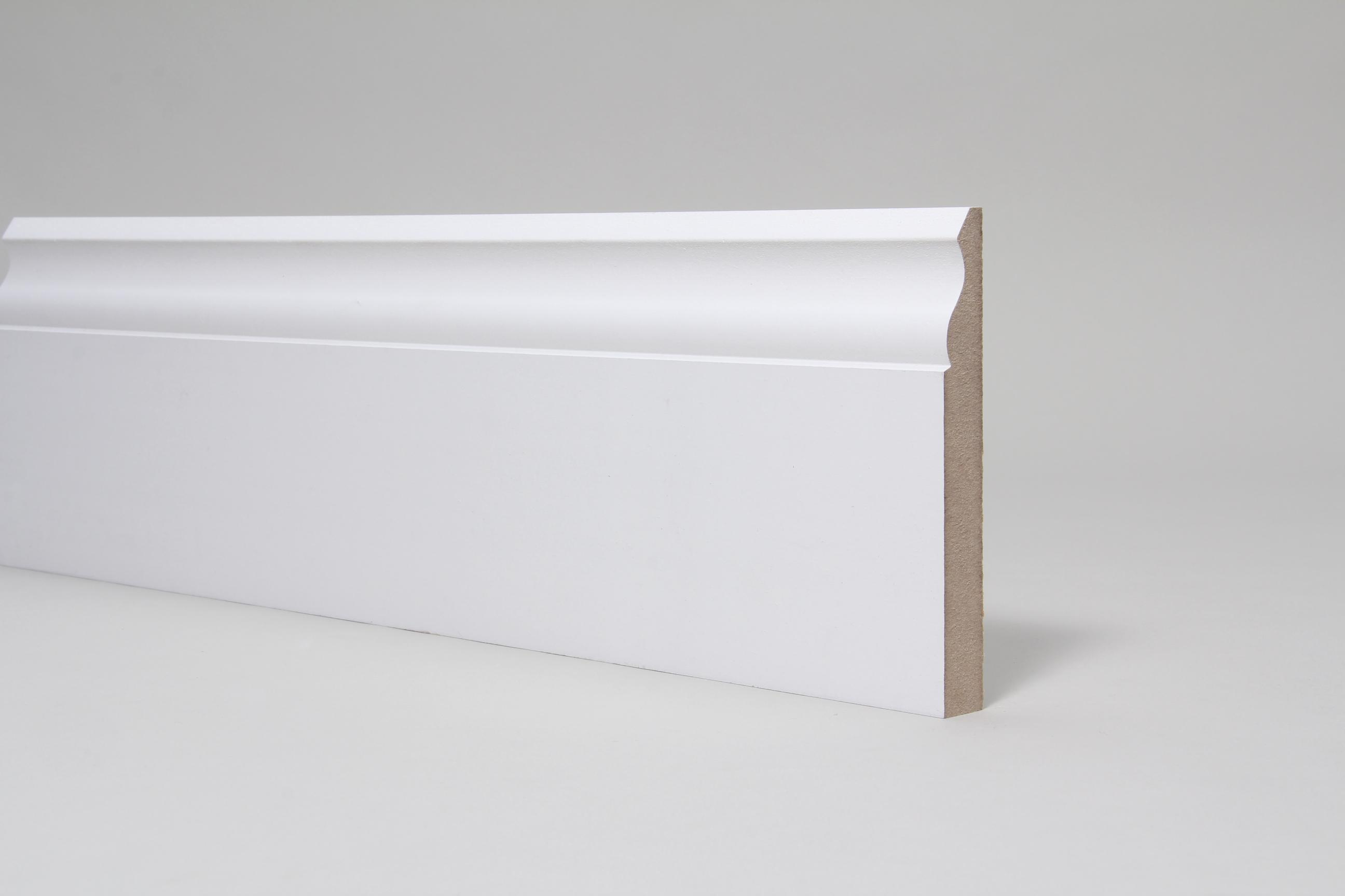 Ogee 18mm x 144mm x 4.4 Mtr Primed