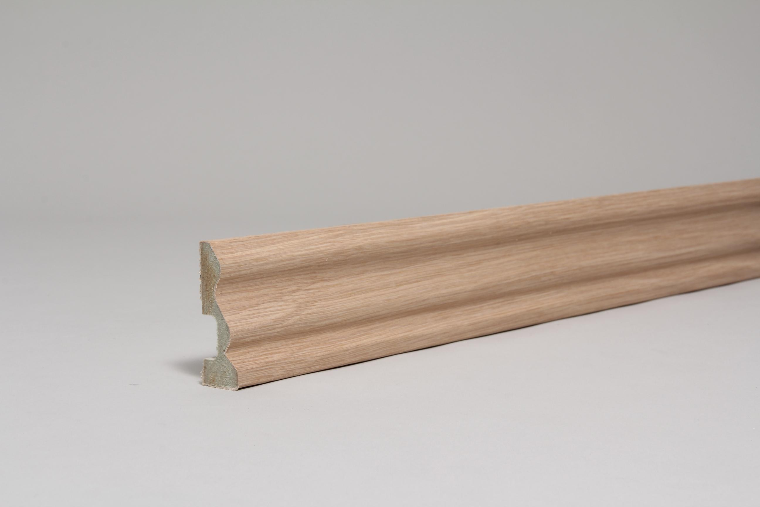 Ogee 18mm x 57mm x 4.4 Mtr Veneered  American White Oak
