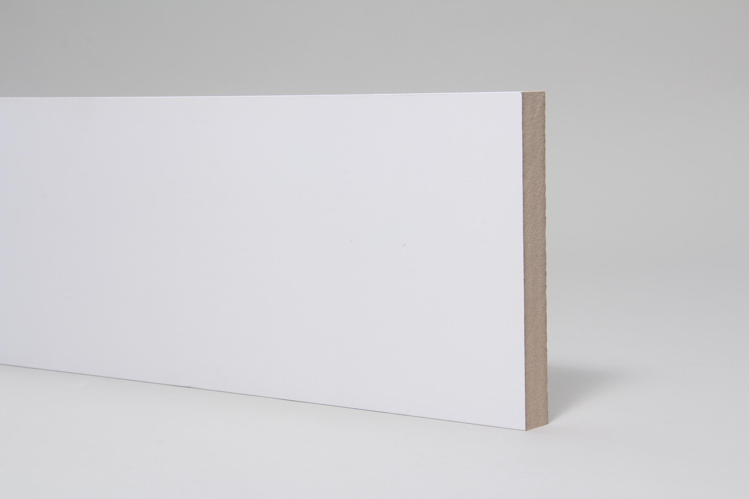 Plain Square Edge 18mm x 144mm x 4.4 Mtr Primed