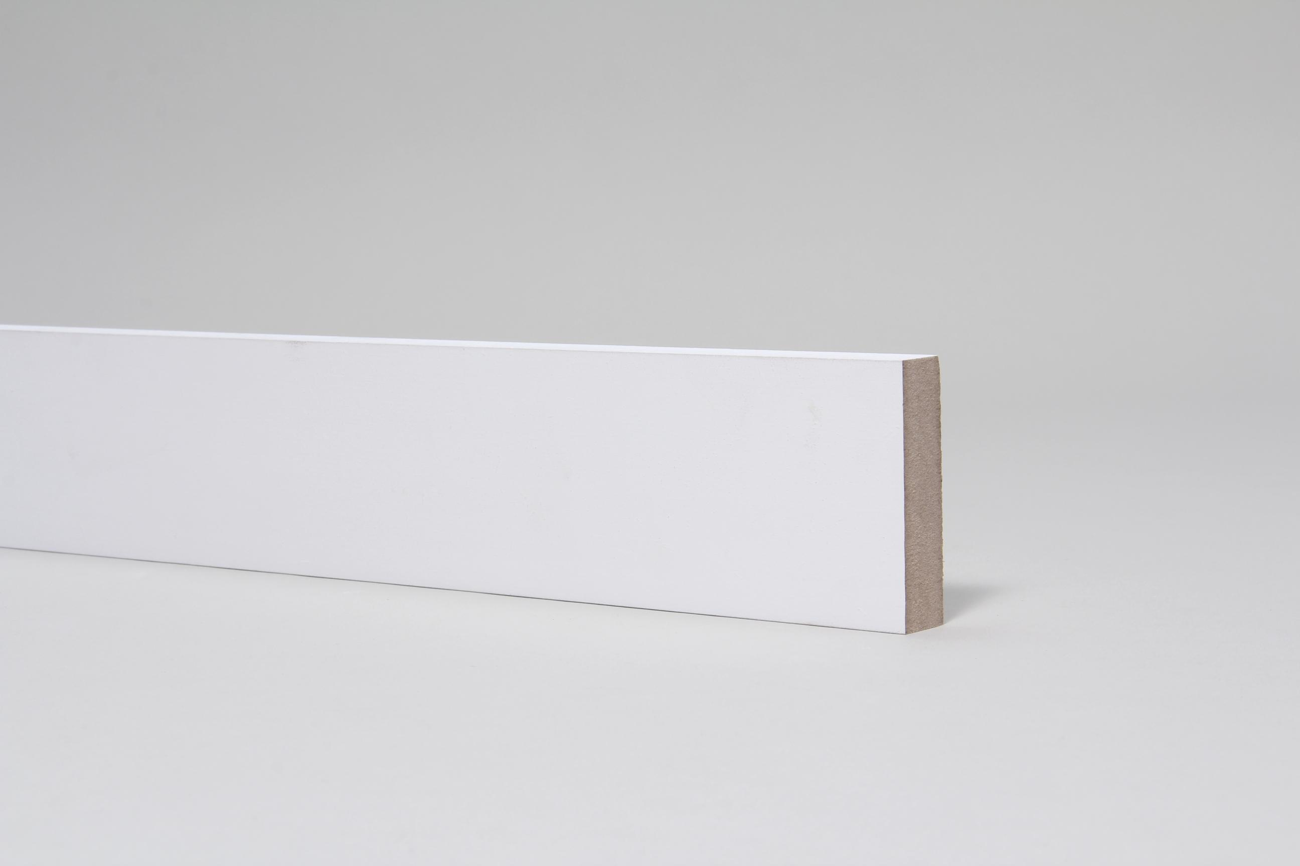 Plain Square Edge 18mm x 68mm Architrave Set Primed