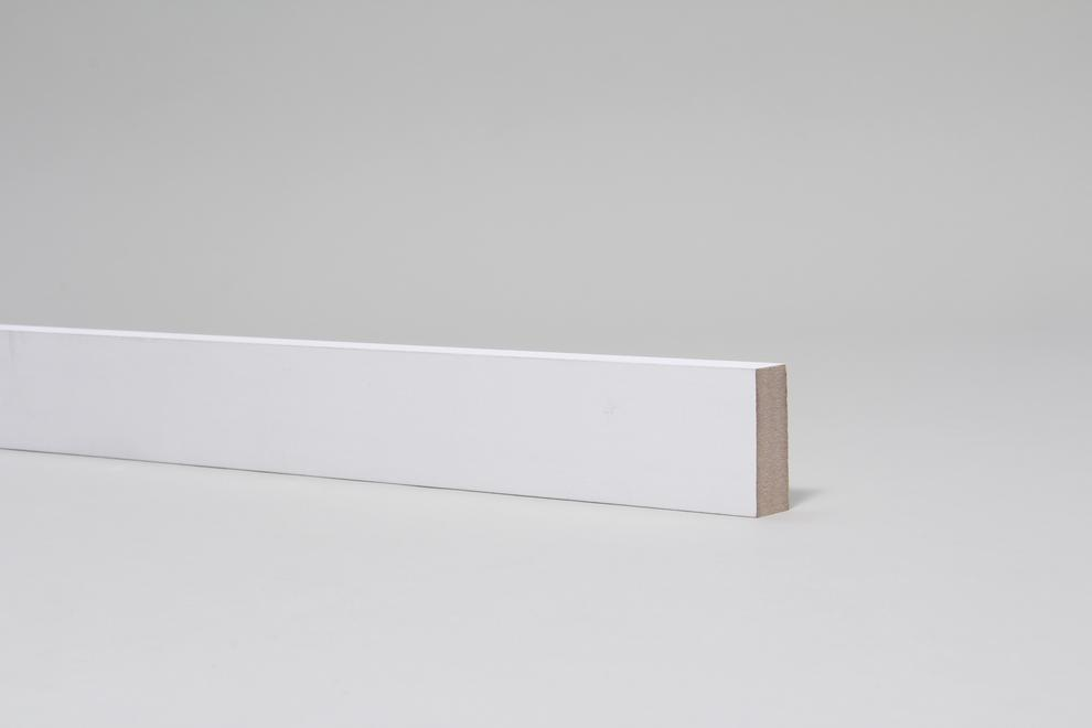 Image for Plain Square Edge 18mm x 44mm Architrave Set Primed