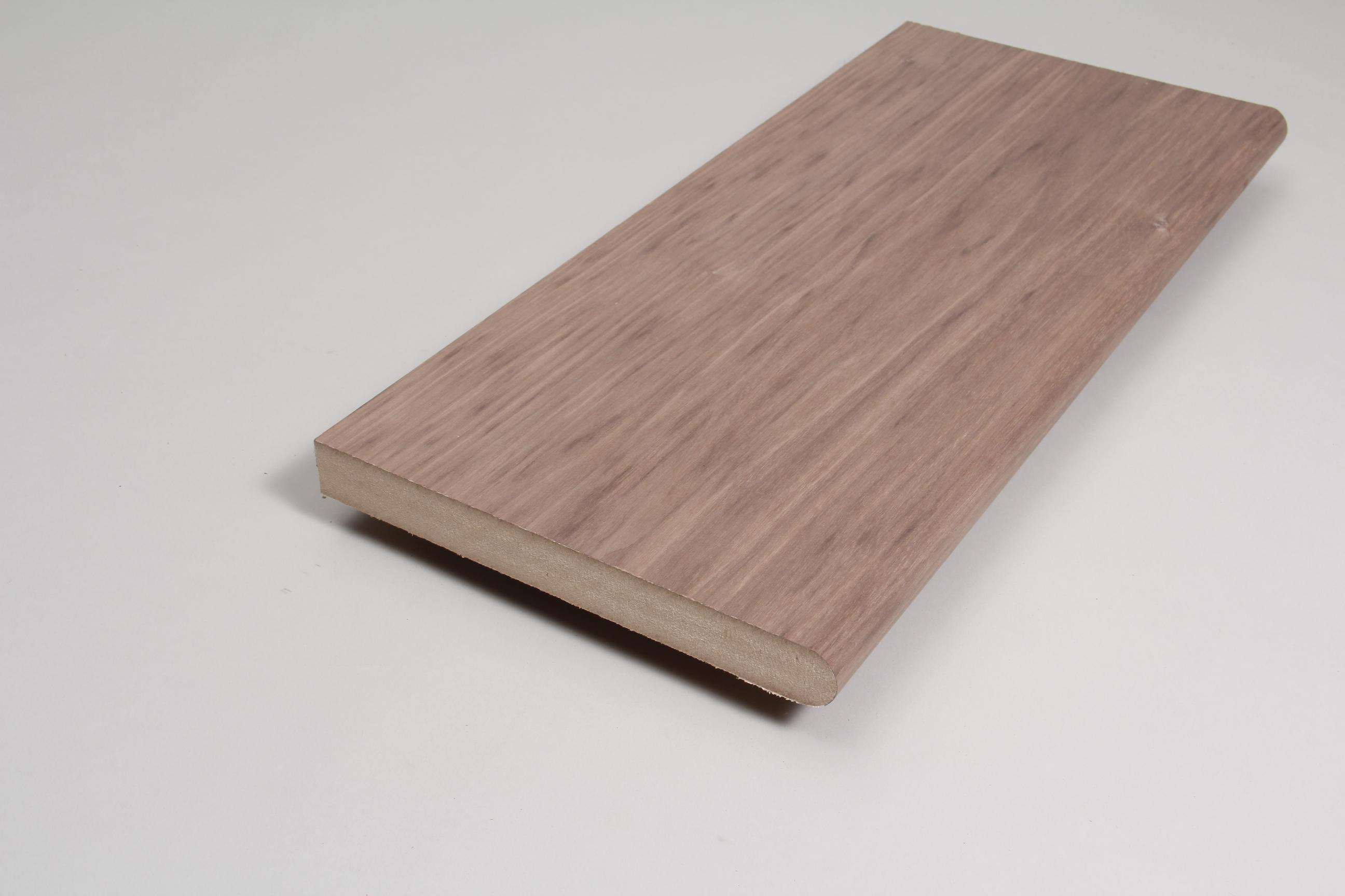 Window Sill 25mm x 219mm x 3.660m Veneered  American Black Walnut