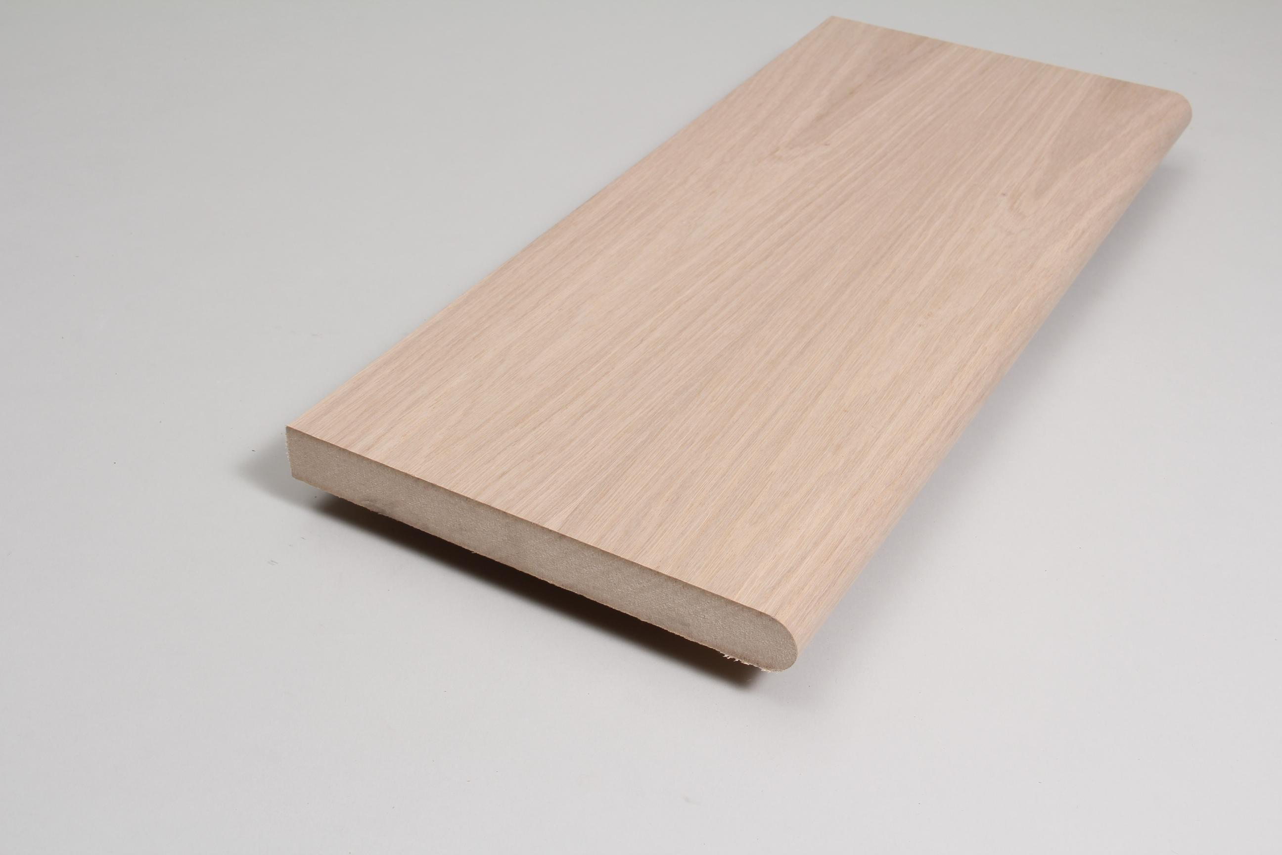 Window Sill 25mm x 219mm x 3.660m Veneered American White Oak