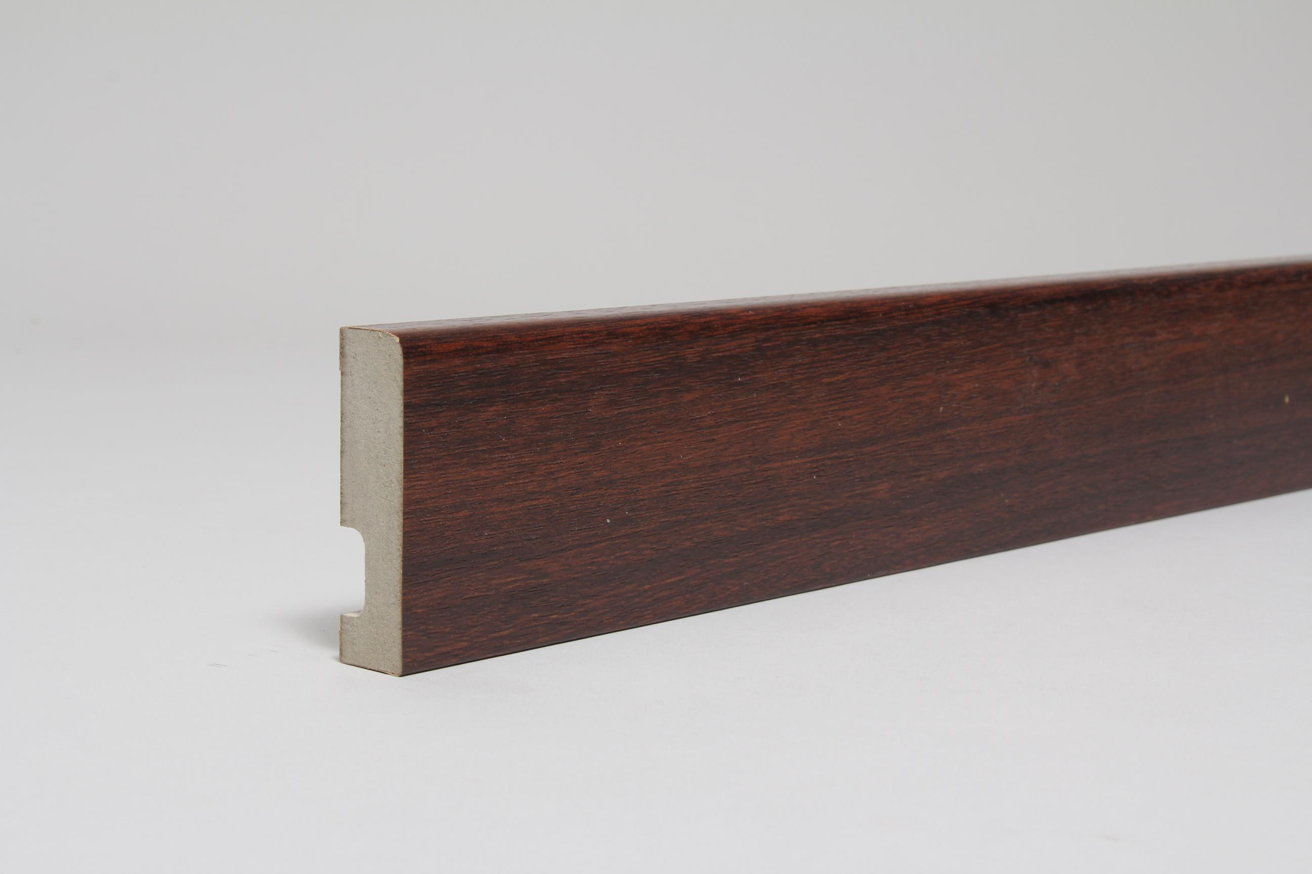Rounded One Edge 18 x 68 x 4.4 Mtr Mahogany Fully Finished Foil Wrapped  (Special Offer)