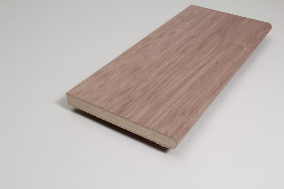 Image for Window Sill 25mm x 244mm x 3.660m Veneered American Black Walnut
