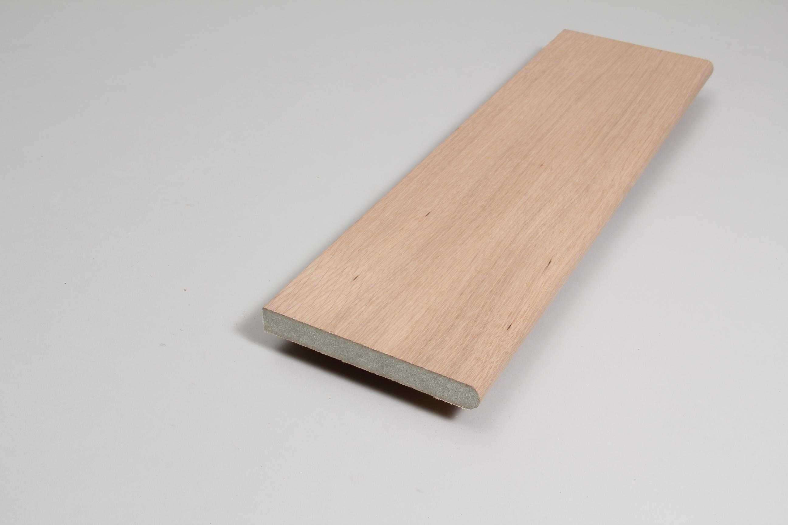 Window Sill  18mm x 144mm x 4.400m Veneered American White Oak