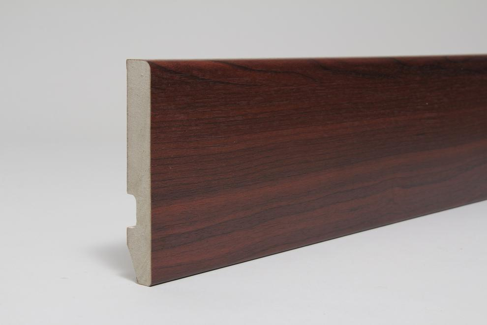 Image for Rounded One Edge 18 x 119 x 4.4 Mtr Rosewood Fully Finished Foil Wrapped (Special Offer)