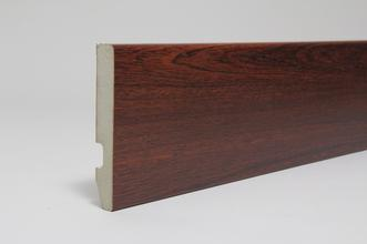 Image for Rounded One Edge 18 x 119 x 4.4 Mtr Mahogany Fully Finished Foil Wrapped (Special Offer)